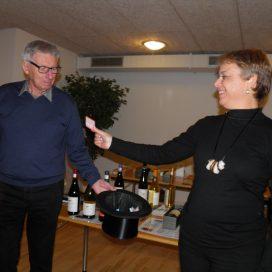 Vinsmagning i Midtjysk vinselskab Herning